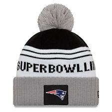 NEW ERA NFL New England Patriots Super Bowl LIII 53 Beanie Knit Hat Cap Logo