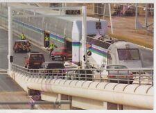 CPM TRAIN EUROTUNEL LE SHUTTLE Chargement voitures navettes touristes Calais