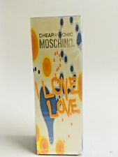 I Love Love Moschino Cheap and Chic EDT 50ML/1.7OZ NIB SEALED