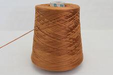 A14 (28,32€/kg) 600g KRISTALL BAUMWOLLE KUPFERORANGE (4) Wolle Mercerisiert