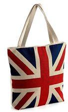 Union Jack Tote bag Flag design tapestry Blue-Shopper-UK-England-Beach festival