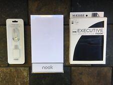 New Barnes & Noble BNRZ100 3G Wi‑Fi Nook E‑Book Reader White Sealed!!!