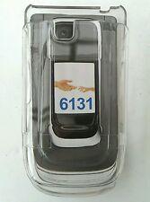 NOKIA 6131 clip su Chiaro Cristallo in Plastica Rigida Phone Case Shell