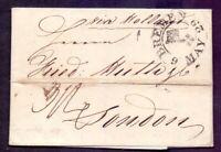 Vorphilabrief Altbrief Bremen 1829 mit Schlüssel-Stempel nach London (008)