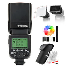 Godox TT685S HSS 1/8000S GN60 TTL Flash Speedlite for Sony+ Diffuser+ Filter
