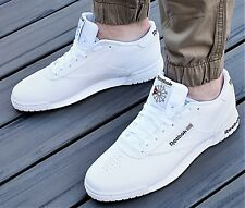 4d64a4528ff Reebok Men s Classics Shoes Exofit Lo Clean Logo INT White royal AR3169  Size 11