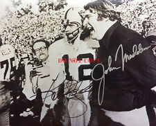 JOHN MADDEN KENNY STABLER AUTOGRAPHED SIGNED OAKLAND RAIDERS 8X10 SUPER BOWL XI