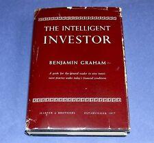 THE INTELLIGENT INVESTOR Benjamin Graham First Edition 3rd Printing Hardcover/DJ