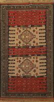 Tribal Kilim Geometric Hand-Woven Area Rug Classic Oriental Nomad 4x6 ft Carpet