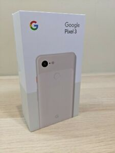 Google - Pixel 3 with 64GB Memory Cell Phone (Unlocked) - Not Pink - New SEALED