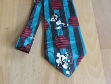 Black & White MICKEY Mouse Novelty Tie by Disney