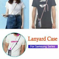HandyHülle mit Band Schutzhülle Seil Schnur Case Für Samsung Galaxy S10 /E /Plus