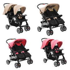 Kinderwagen Geschwisterwagen Zwillingswagen Zwillingsbuggy Baby liegeposition