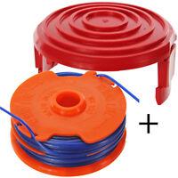 Dual Strimmer Line Spool Head Base Cover Cap for MCGREGOR 350w MET3525 Trimmer