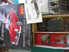 Vintage 1/18 ERTL European Classics Mercedes-Benz 190 SL Coupe red Diecast Kit