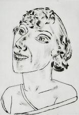 """MAX BECKMANN - """"Sarika"""", handsignierte Radierung, Auflage 30, 1922 ! Selten!"""