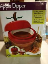 Chocolate Apple Dipper Electric Warmer Fondue Caramel Dip Bowl 28 oz chocomaker