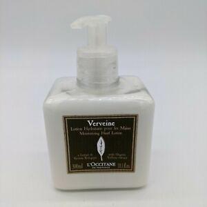 NEW L'occitane Verveine Moisturizing Hand Lotion 10.1 oz 300 ml Verbena