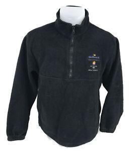 2002 Salt Lake City Olympics Hallmark Proud Sponsor Fleece Pullover Jacket B3