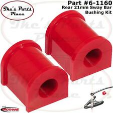 Prothane 6-1160 Rear Sway Bar 21mm Bushings  02-04 Ford Explorer 2wd & 4wd
