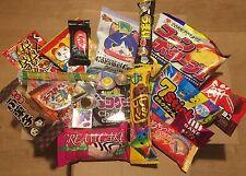 Japanese Dagashi Box, Sweet Set, 21 pc, Snack, Candy, Cake, Kit kat, etc