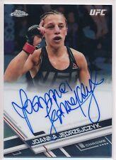 2017 Topps UFC Chrome Joanna Jedrzejczyk Champion JJAX Auto Autograph