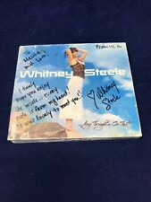 Whitney Steele - Any Thoughts On That? CD Signed