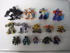 Lot of Hasbro Robot Heroes Figures Transformers etc Optimus Bumblebee Fallen