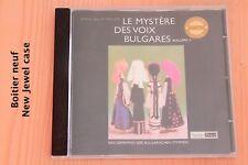 Mystère des Voix Bulgares - Bulgarischen Stimmen - 13 tracks - CD TTV 2000