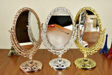 Espejos de maquillaje sin marca de plata