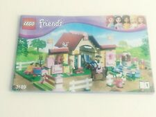 Lego Friends 3189 Heartlake Stables Manual Instructions BOOK ONE ONLY