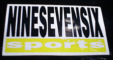 Vintage 976 Ninesevensix Sports inline skate x-treme game stickers & decals