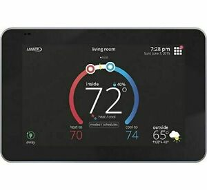 "Lennox iComfort E30 Universal Smart Programmable Thermostat, 7"" HD Color"