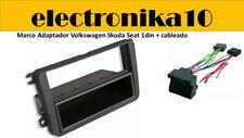 Volkswagen Seat Skoda Marco de Montaje para Radio 1 DIN  kit cableado alimentac
