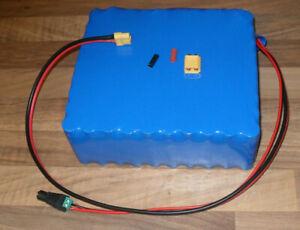 Lithium Akku, 36V - 22A. bestehend aus 90 Samsung Zellen, mit BMS, neuwertig