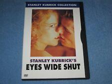 Eyes Wide Shut (Dvd, 2001, Stanley Kubrick Collection) *Rare, Oop!*