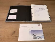 AUDI A4 B8 2009 ESTATE SERVICE BOOKS WITH WALLET FULL AUDI SERVICE HISTORY  #2A