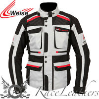 WEISE W-TEX MENS WATERPROOF STONE TOURING MOTORCYCLE JACKET CLEARANCE SALE
