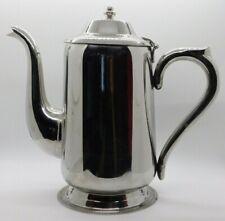 Vollrath Flip Top Coffee Server Teapot Stainless Steel 46364