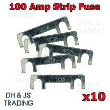 10 x 100A Amp Strip Fuse Link Midi Diesel Glow Plug Relay Classic Car Truck TVR