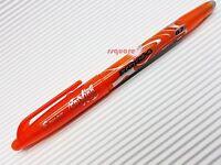 3 x Pilot LFB-20F FriXion 0.7mm Fine Erasable Rollerball Gel Ink Pen, Orange