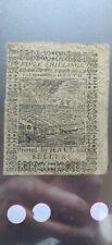 October 1, 1773 50 Shillings Pennsylvania Colonial Note