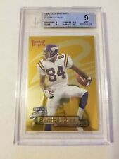 1998 Randy Moss Fleer Brilliants Gold #140G /99 BGS 9! RARE!! 3 9.5 subgrades
