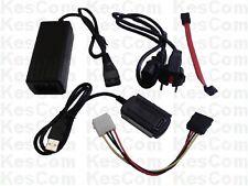 Kabel USB auf IDE/S-ATA f. 6,4cm und  8,9cm Festplatten