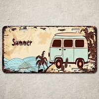 LP0167 Old Vintage Summer Hawaii Sign Auto License Plate Home Store Gift Decor