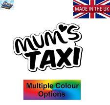MUMS TAXI HEART CAR WINDOW STICKER KIDS DRIVER MOTHER STICKER DECAL VINYL MMT001