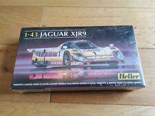 Heller 1:43 scale Jaguar XJR9 model kit racing car sealed vintage