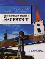Prov of Sachsen II Map Guide to German Parish Registers