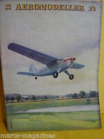 RARE AEROMODELLER JANUARY 1947   MODEL AIRCRAFT C RUPERT MOORE