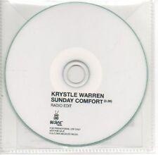 (AE897) Krystle Warren, Sunday Comfort - DJ CD